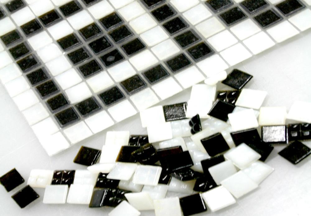 QR Code Mosaic Loose Tile