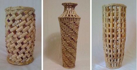 cork vases
