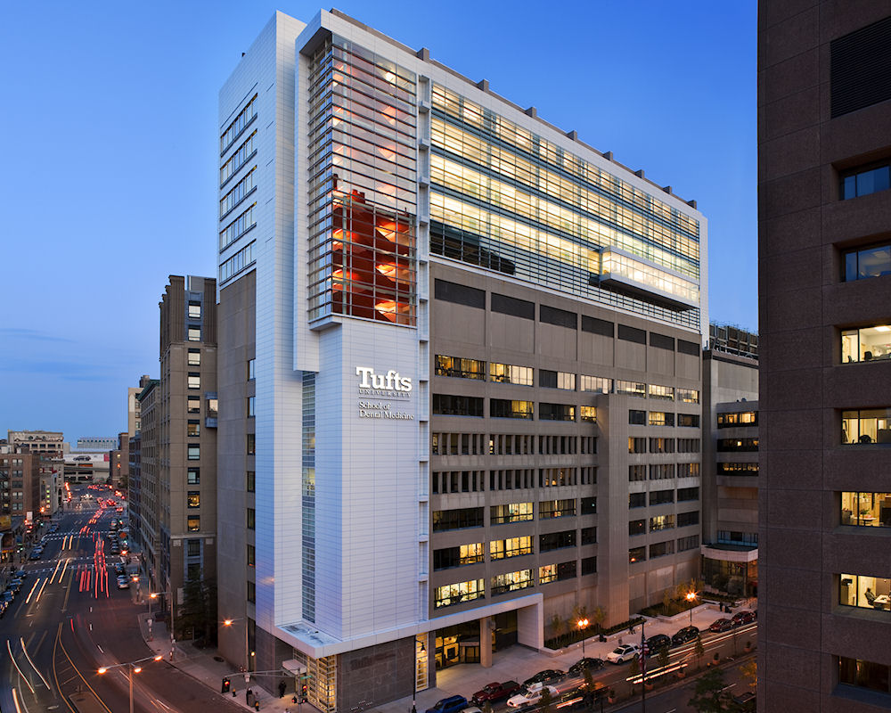Boston's Top Architectural Firms - ARC Tufts Dental School