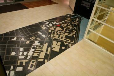 MIT mosaic floor tile