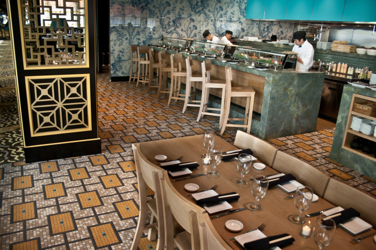 Restaurant Tile Designs Artaic