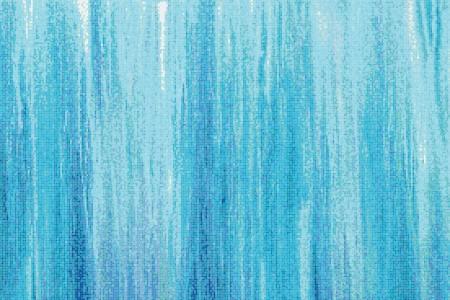 Blue water Contemporary Artistic Mosaic by Artaic
