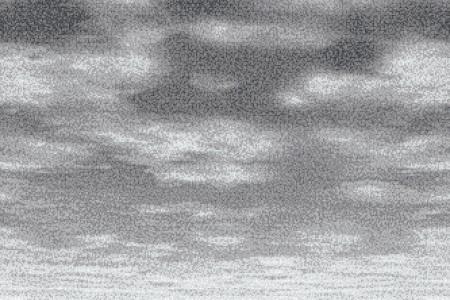 Grey Sky Contemporary Artistic Mosaic by Artaic