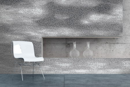 Grey Sky Contemporary Artistic Mosaic installation by Artaic