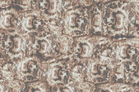 Tan Tortoise Shell Contemporary Textural Mosaic by Artaic