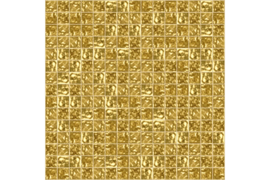 Vg G601 14k Gold Leaf Gold Gold Vitreous Glass Mosaic Tile Artaic