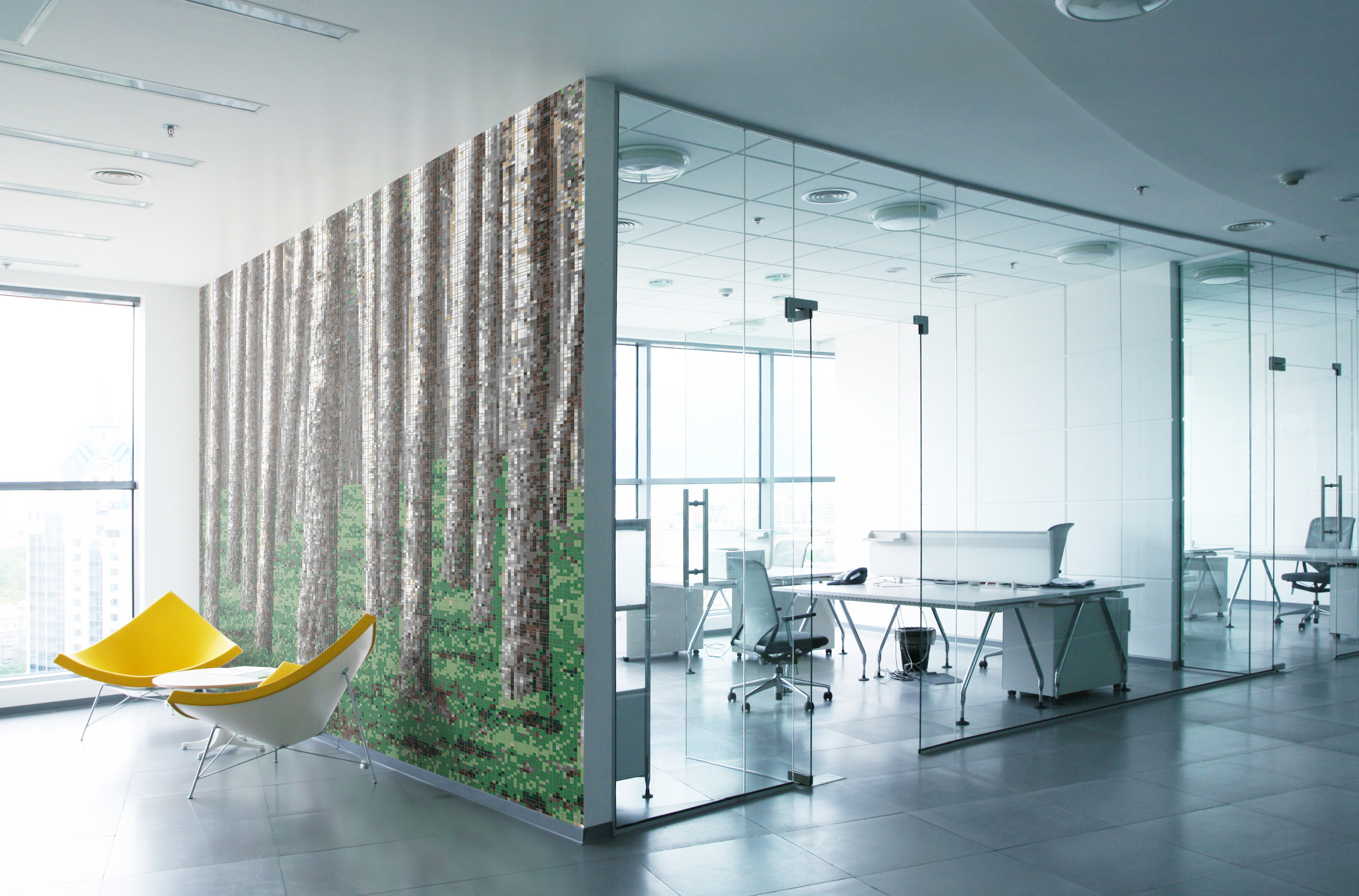 0120703-woodspire-virid-green-nature-tree-forest-mosaic-tile-design-office-wall_artaic