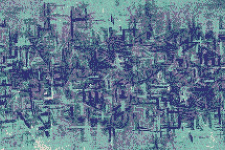 Turquoise pattern  Textural Mosaic by Artaic