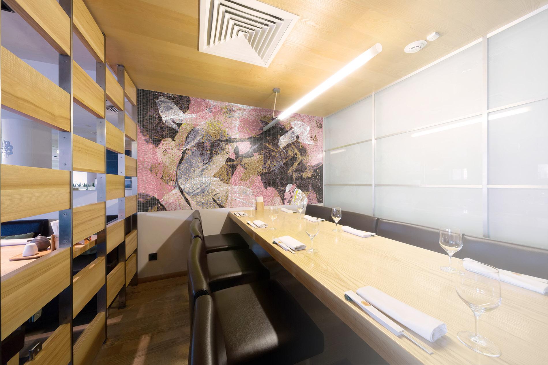 Urban Restaurant mosaic deisng