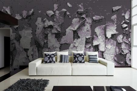 Scatter Lavender Tile Pattern