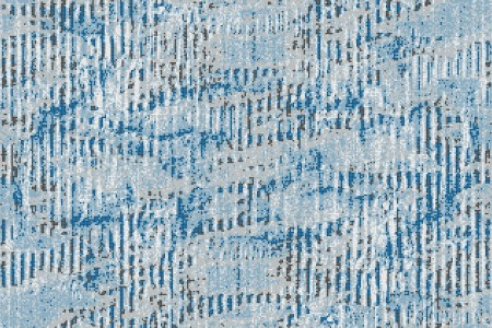 Blue cardboard Contemporary Textural Mosaic by Artaic