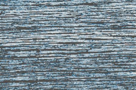 Blue wood grain Contemporary Textural Mosaic by Artaic