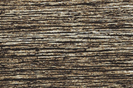 Brown wood grain Contemporary Textural Mosaic by Artaic