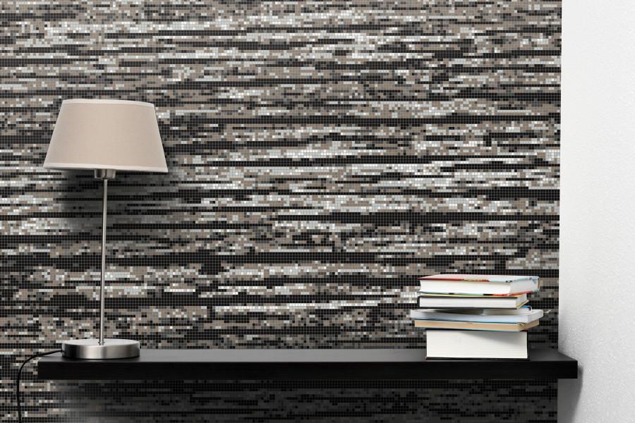 Grey Wood Grain Tile Pattern Splintered Ash By Artaic