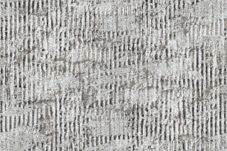 Grey cardboard Contemporary Textural Mosaic by Artaic