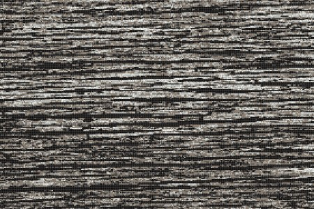 Grey wood grain Contemporary Textural Mosaic by Artaic