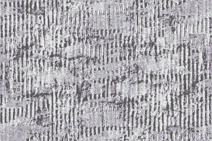 Purple cardboard Contemporary Textural Mosaic by Artaic