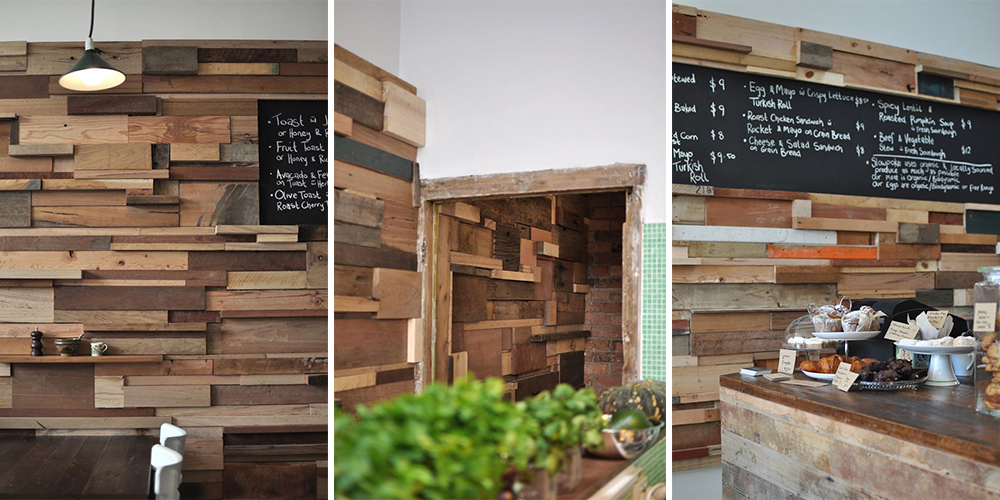 Top Sustainable Wall Coverings   Reclaimed Wood