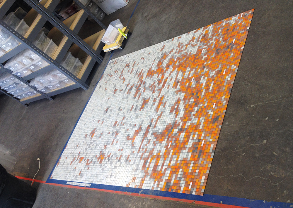 01134061 carbonation tangerine orange residential mosaic tile shower backsplash 3 artaic