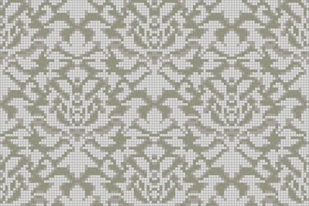 neutral textiles Traditional Ornamental Mosaic by Artaic