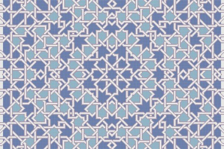 blue flowing vines Traditional Geometric Mosaic by Artaic blue flowing vines Traditional Geometric Mosaic installation by Artaic blue flowing vines Traditional Geometric Mosaic installation by Artaic