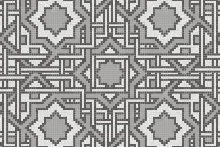 gray flowing vines Traditional Geometric Mosaic by Artaic gray flowing vines Traditional Geometric Mosaic installation by Artaic gray flowing vines Traditional Geometric Mosaic installation by Artaic