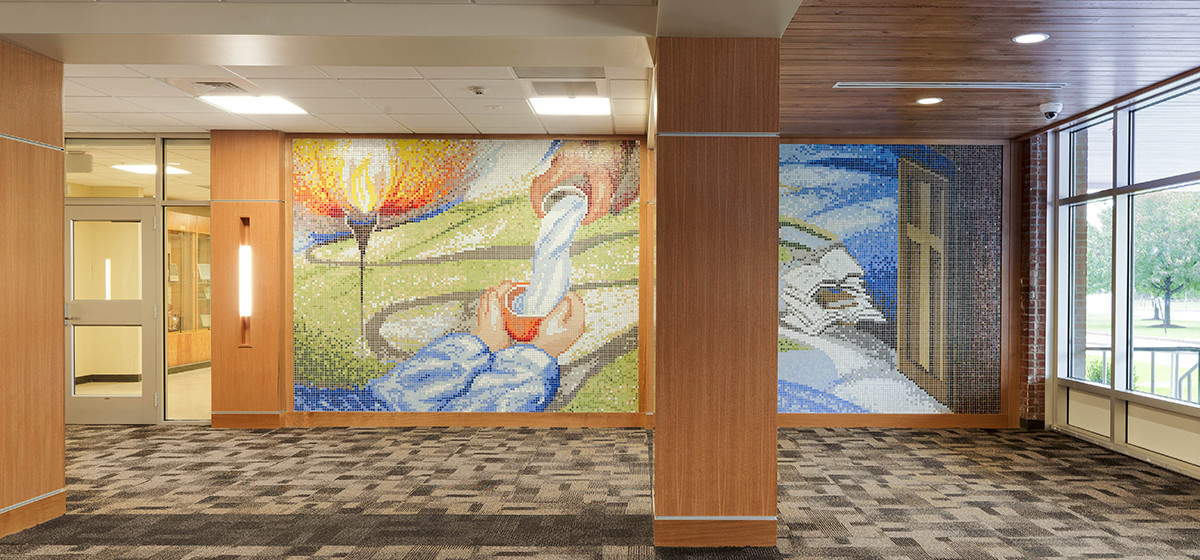 Rice Memorial Mosaic