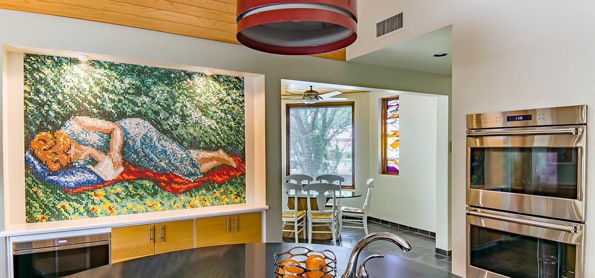 01144042 Central Park residential tile mural | Artaic