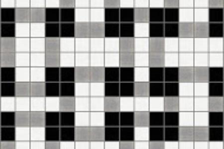 black basket weave Traditional Geometric Mosaic by Artaic black basket weave Traditional Geometric Mosaic installation by Artaic black basket weave Traditional Geometric Mosaic installation by Artaic
