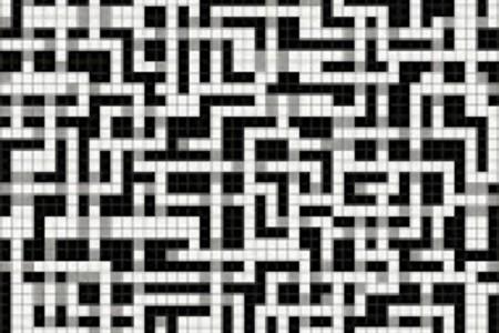 black pixels Traditional Geometric Mosaic by Artaic black pixels Traditional Geometric Mosaic installation by Artaic black pixels Traditional Geometric Mosaic installation by Artaic