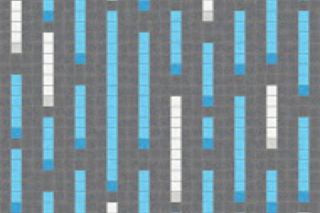 blue pixels Traditional Geometric Mosaic by Artaic blue pixels Traditional Geometric Mosaic installation by Artaic blue pixels Traditional Geometric Mosaic installation by Artaic
