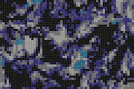 blue swirling water Traditional Geometric Mosaic by Artaic blue swirling water Traditional Geometric Mosaic installation by Artaic blue swirling water Traditional Geometric Mosaic installation by Artaic