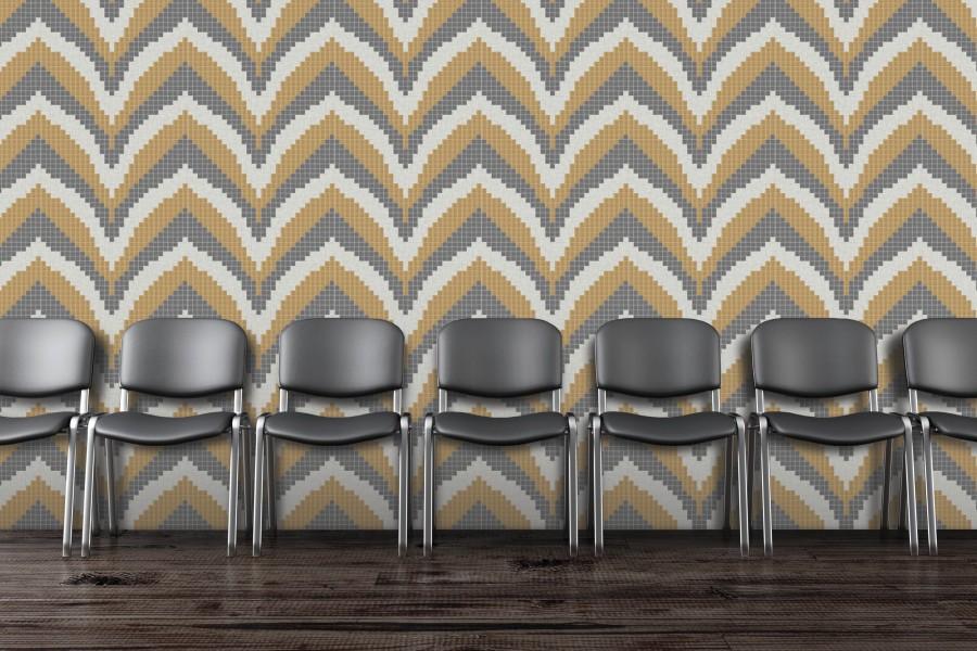chevron pattern tile