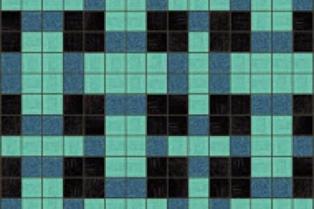 turquoise basket weave Traditional Geometric Mosaic by Artaic turquoise basket weave Traditional Geometric Mosaic installation by Artaic turquoise basket weave Traditional Geometric Mosaic installation by Artaic