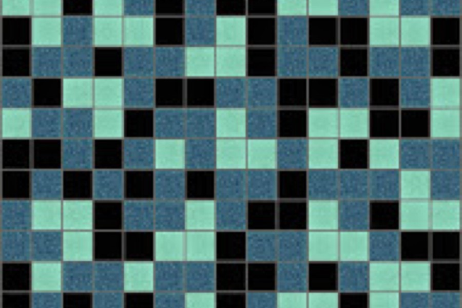 turquoise blend Traditional Geometric Mosaic by Artaic turquoise blend Traditional Geometric Mosaic installation by Artaic turquoise blend Traditional Geometric Mosaic installation by Artaic