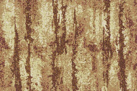 Brown depths Contemporary Abstract Mosaic by Artaic