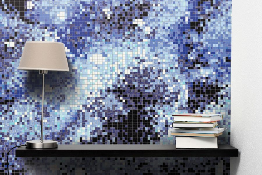 Blue Water Tile Pattern Immersion Cosmic By Artaic