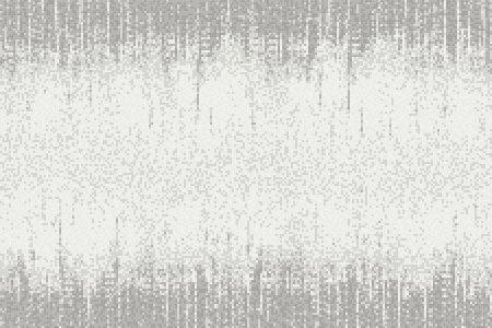 Grey Waterfall Contemporary Abstract Mosaic by Artaic