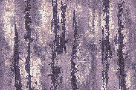 Purple depths Contemporary Abstract Mosaic by Artaic
