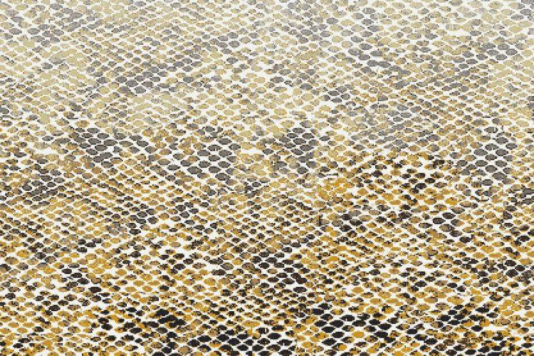 Gold Snake Skin Tile Pattern Hydrus Golden Ember By Artaic