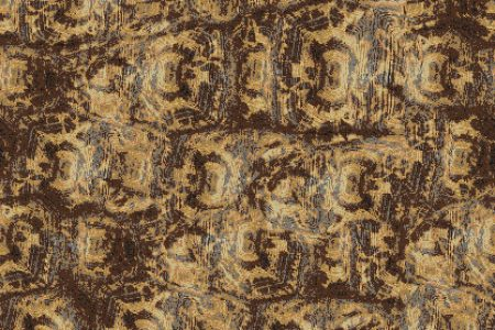 Gold Tortoise Shell Contemporary Textural Mosaic by Artaic