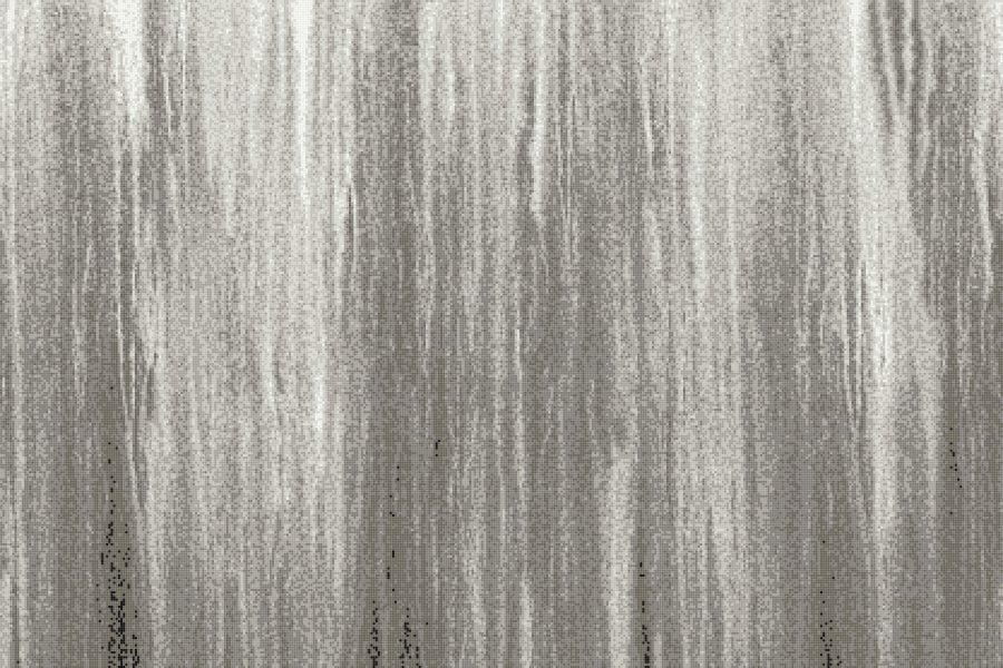 Grey Waterflow Contemporary Artistic Mosaic by Artaic
