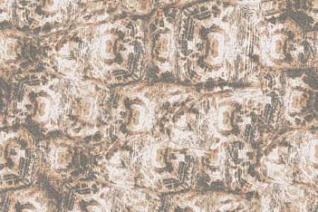 Tan Tortoise Shell Contemporary Textural Mosaic by Artaic