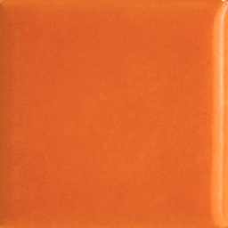 Tangerine Orange Glazed Porcelain Tile