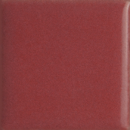 Raspberry Red Glazed Porcelain Tile