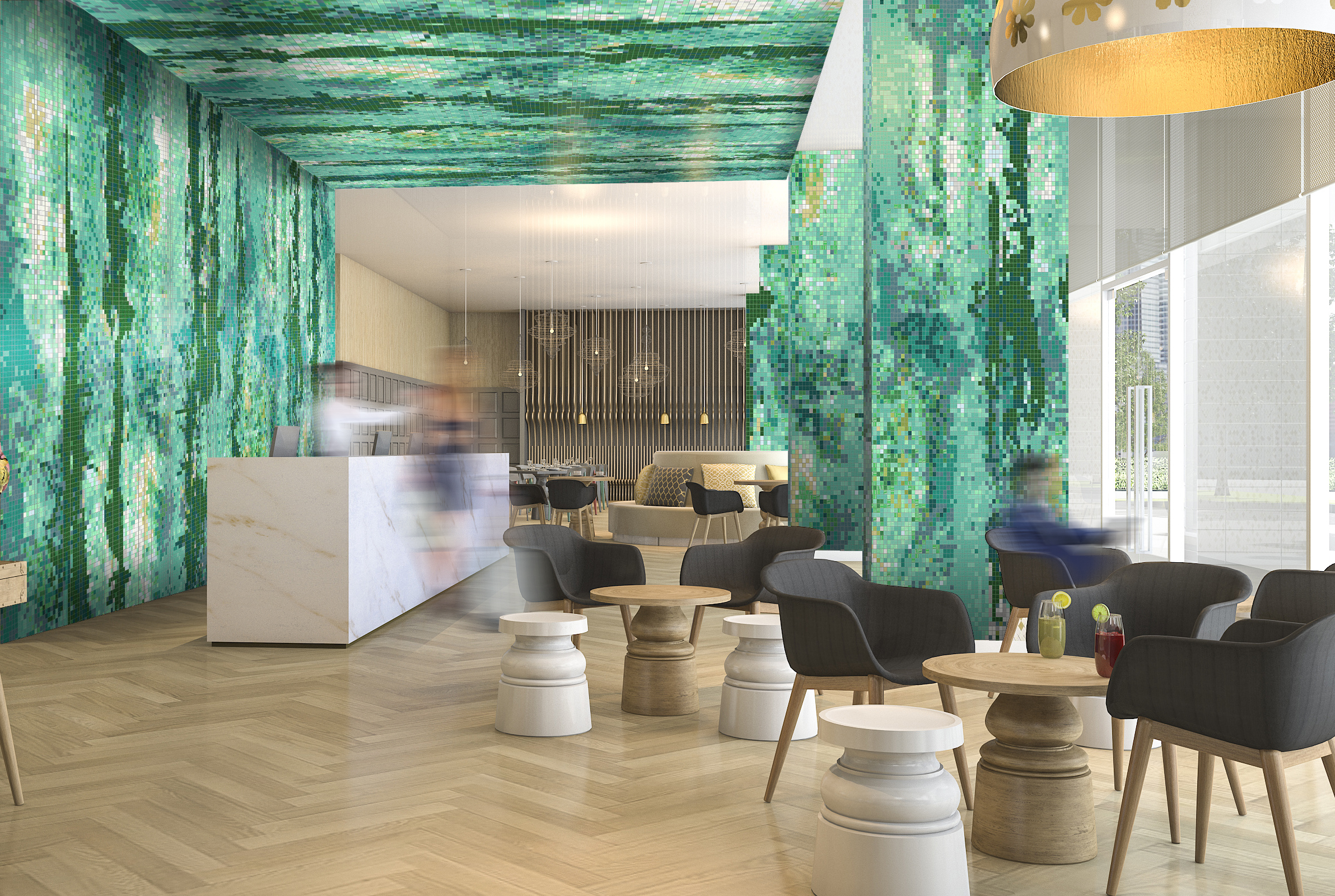 Tile Design Is Inspired By Water Artaic