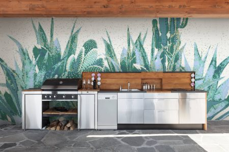 Outdoor Kitchen Agave Lagoon