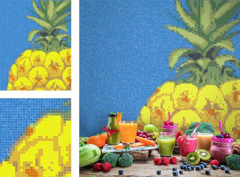 Pineapple Mosaic
