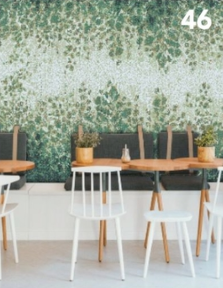 Floral Wall Covering