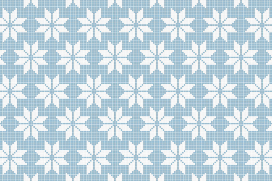 Compass Glacier3 Tile Pattern